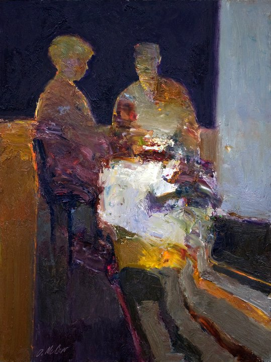 Dan McCaw 1942 | American expressionist painter