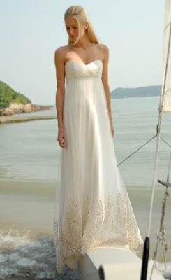 1 Vestidos (de noiva) e algumas idéias para o casamento na praia...!