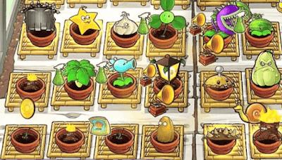Zen Garden di Plants vs. Zombies laptop dan hp