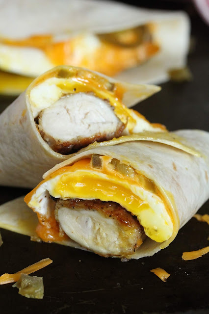 Chicken Chicken Breakfast Wrap