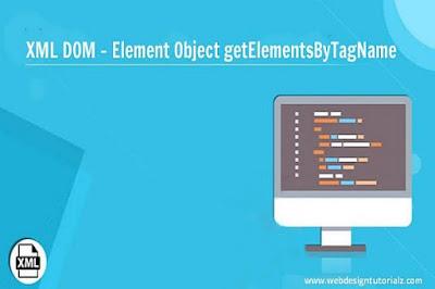 XML DOM - Element Object getElementsByTagName Method