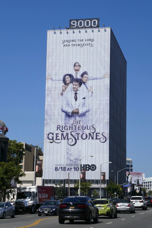 Righteous Gemstones HBO series billboard