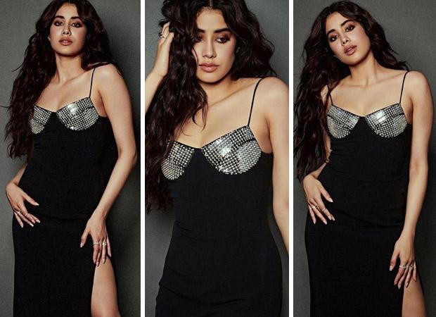 Janhvi Kapoor Effortlessly Makes Statement In Thigh High Slit Dress
