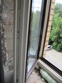 Деревянные окна с защитным алюминием