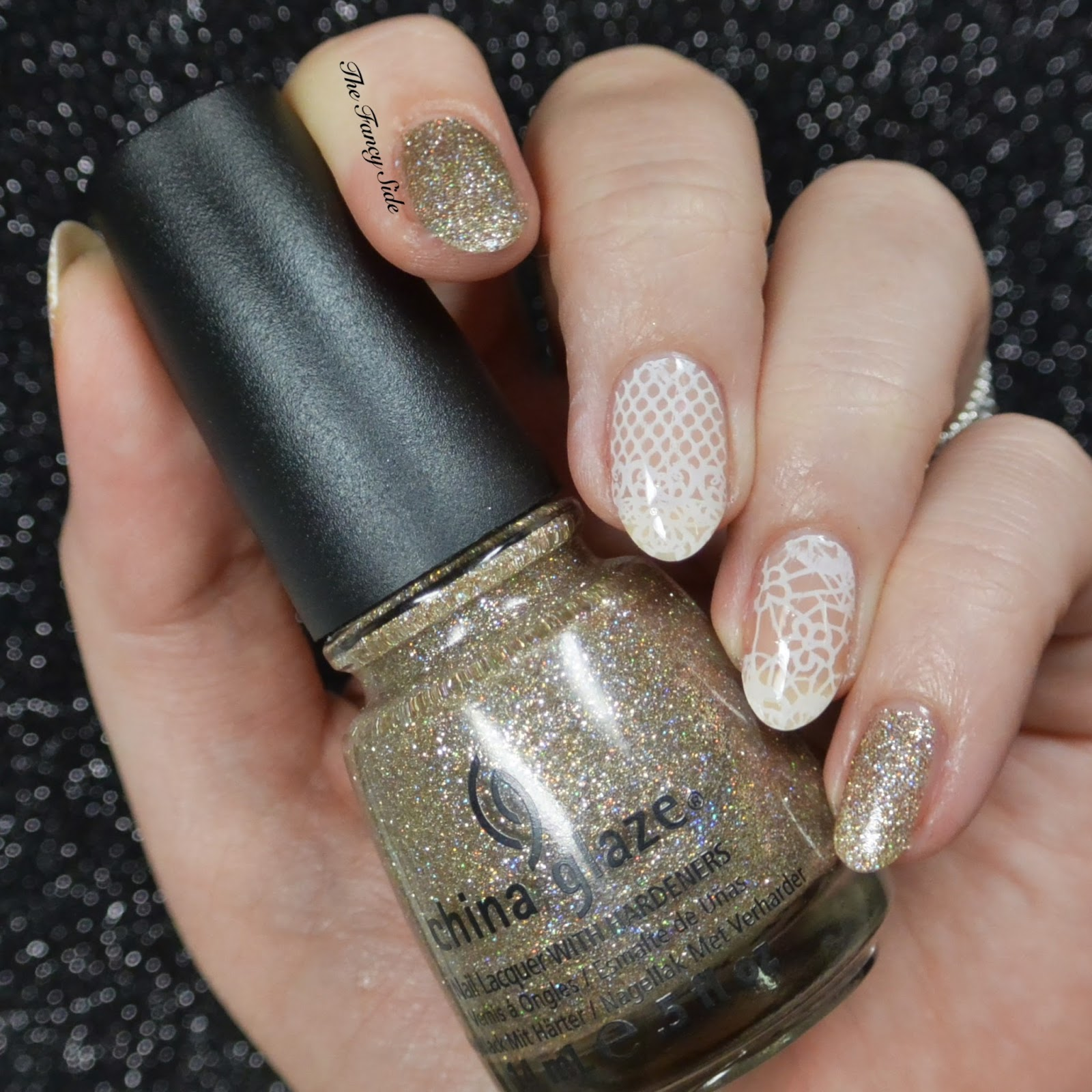 The Fancy Side Thelacquerring Lace 31dc2016 Inspired By A Song