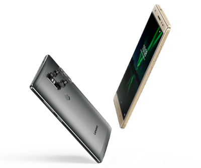 Lenovo Phab2 Plus Specifications - LAUNCH Announced 2016, June DISPLAY Type IPS capacitive touchscreen, 16M colors Size 6.4 inches (~73.5% screen-to-body ratio) Resolution 1080 x 1920 pixels (~344 ppi pixel density) Multitouch Yes BODY Dimensions 173.9 x 88.3 x 9.6 mm (6.85 x 3.48 x 0.38 in) Weight 218 g (7.69 oz) SIM Dual SIM (Micro-SIM/Nano-SIM, dual stand-by) PLATFORM OS Android OS, v6.0 (Marshmallow) CPU Octa-core Chipset Mediatek MT8783 MEMORY Card slot microSD, up to 256GB (uses SIM2 slot) Internal 32 GB, 3 GB RAM CAMERA Primary Dual 13 MP, f/2.0, laser & phase detection autofocus, Dual-LED flash Secondary 8 MP, f/2.2, 1.4 µm pixel size, 1080p Features Geo-tagging, touch focus, face detection, HDR, panorama Video Yes NETWORK Technology GSM / HSPA / LTE 2G bands GSM 850 / 900 / 1800 / 1900 - SIM 1 & SIM 2 3G bands HSDPA 850 / 900 / 1900 / 2100 - EMEA    HSDPA 850 / 900 / 1700(AWS) / 1900 / 2100 - USA 4G bands LTE band 1(2100), 2(1900), 3(1800), 5(850), 7(2600), 8(900), 20(800), 38(2600), 40(2300), 41(2500) - ЕМЕА    LTE band 2(1900), 4(1700/2100), 5(850), 7(2600), 12(700), 13(700), 17(700) - USA Speed HSPA, LTE GPRS Yes EDGE Yes COMMS WLAN Wi-Fi 802.11 a/b/g/n/ac, dual-band, WiFi Direct, hotspot GPS Yes, with A-GPS USB microUSB v2.0 Radio FM radio Bluetooth v4.0, A2DP FEATURES Sensors Fingerprint, accelerometer, gyro, proximity, compass Messaging SMS(threaded view), MMS, Email, Push Mail, IM Browser HTML5 Java No SOUND Alert types Vibration; MP3, WAV ringtones Loudspeaker Yes 3.5mm jack Yes  - Dolby Atmos  - Active noise cancellation with dedicated mic BATTERY  Non-removable Li-Ion 4050 mAh battery Stand-by  Talk time  Music play  MISC Colors Gunmetal Grey, Champagne Gold  - MP4/H.264 player - MP3/WAV/eAAC+/FLAC player - Photo/video editor - Document viewer