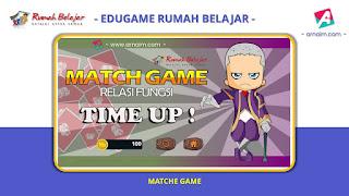 ARNAIM.COM - EDUGAME! PERMAINAN INTERAKTIF FITUR TERBARU RUMAH BELAJAR | MATCH GAME RELASI FUNGSI