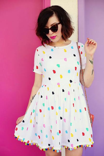 Pom Dress