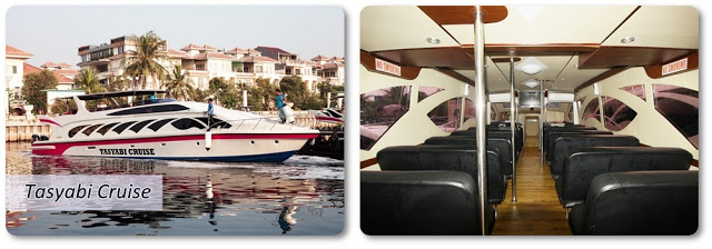 Kapal Speedboat dari ancol