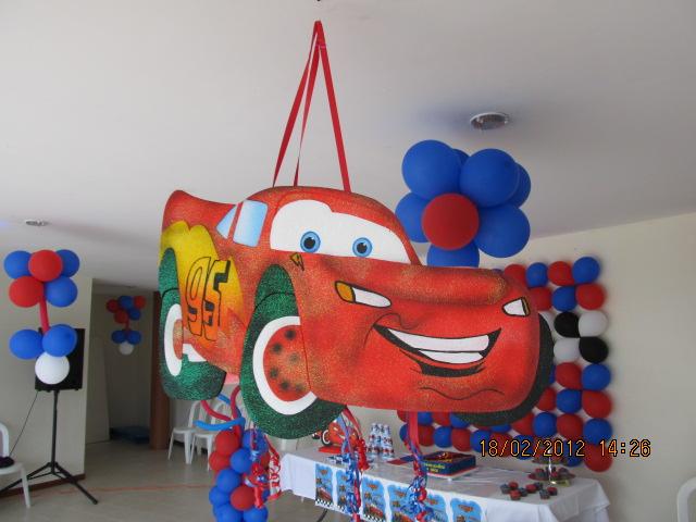 Decoracion cars fiestas infantiles y recreacionistas for Decoracion de pinatas infantiles