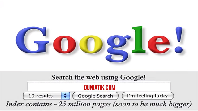 Ulang tahun google ke-20