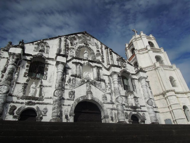 Façade of Daraga Church