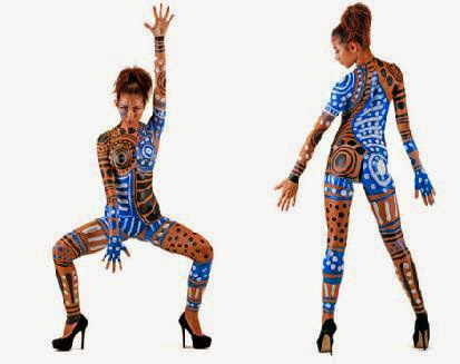 Military Body Paint   Body Painting Pictures