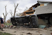 Nashville tornadoes in the United States claimed the lives of 25 people