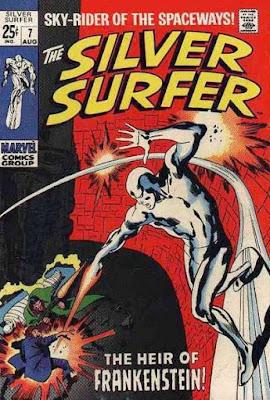 Silver Surfer #7, Frankenstein