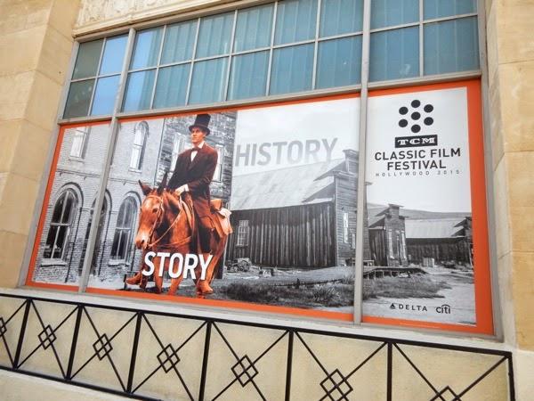 2015 TCM Classic Film Festival window poster