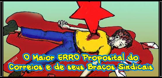 O Maior ERRO Proposital do Correios e de seus Braços Sindicais.