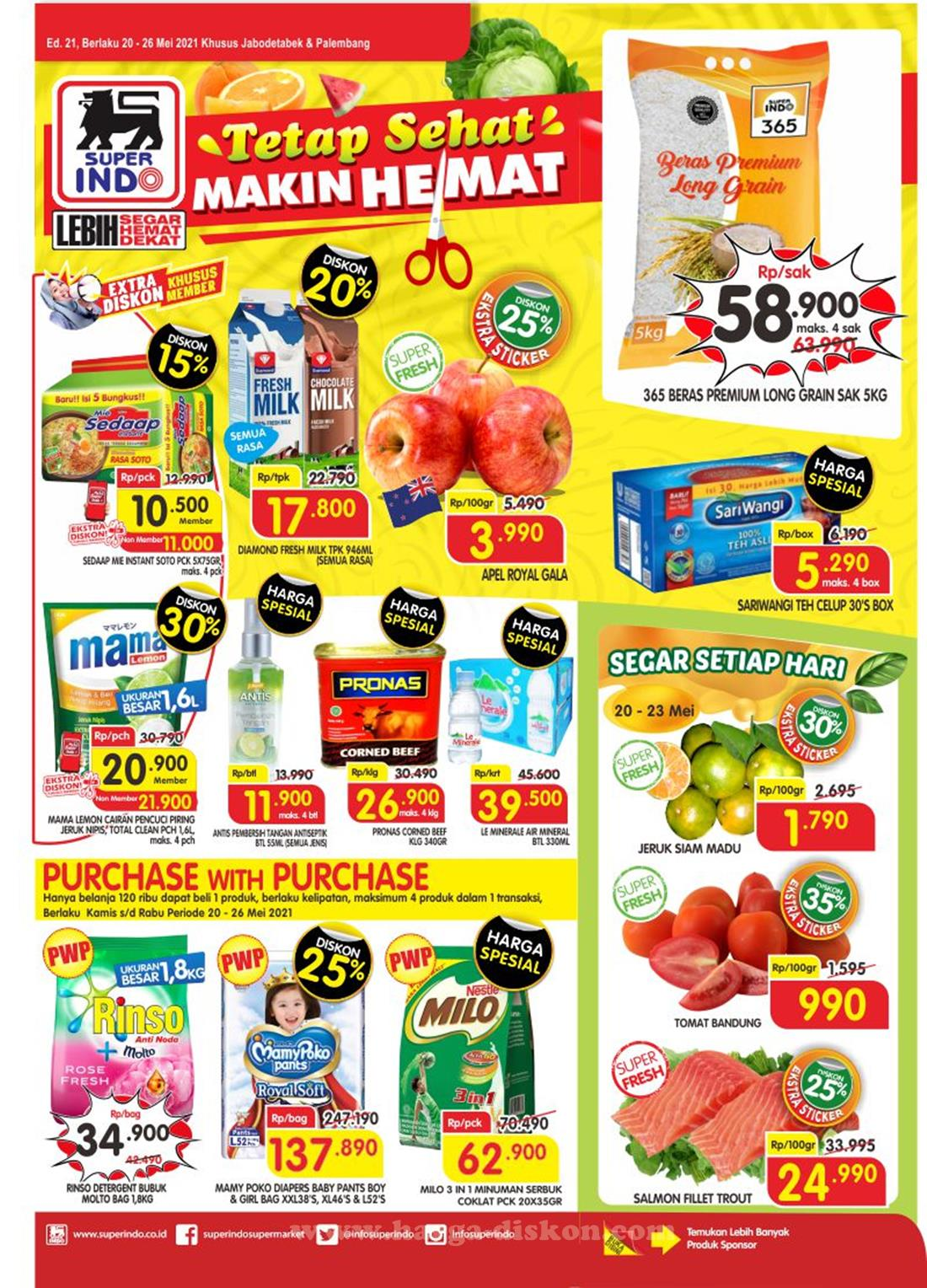 Katalog Superindo Promo Superindo Mingguan 20 - 26 Mei 2021