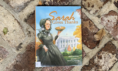 Image for the children's book Sarah Gives Thanks