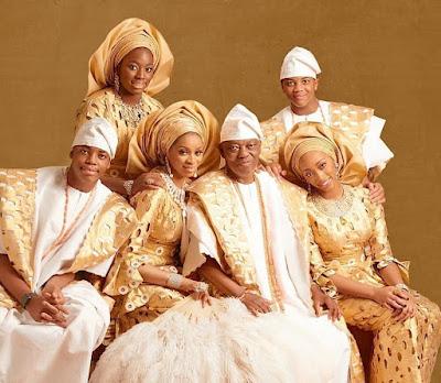 Sade Okoya husband and kids photos