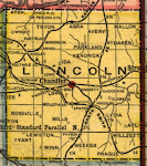 Map of Lincoln Co., 1907