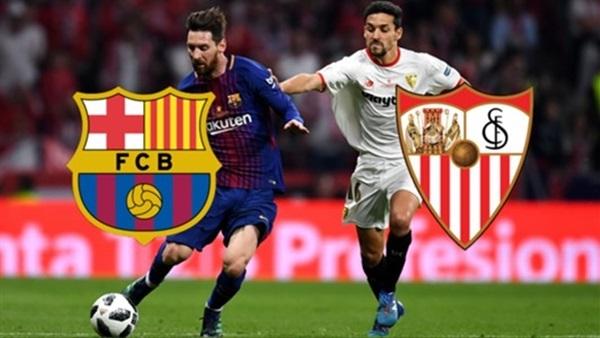 موعد مباراة برشلونة وإشبيلية اليوم في الدوري الإسباني والتشكيل المتوقع والقنوات الناقلة
