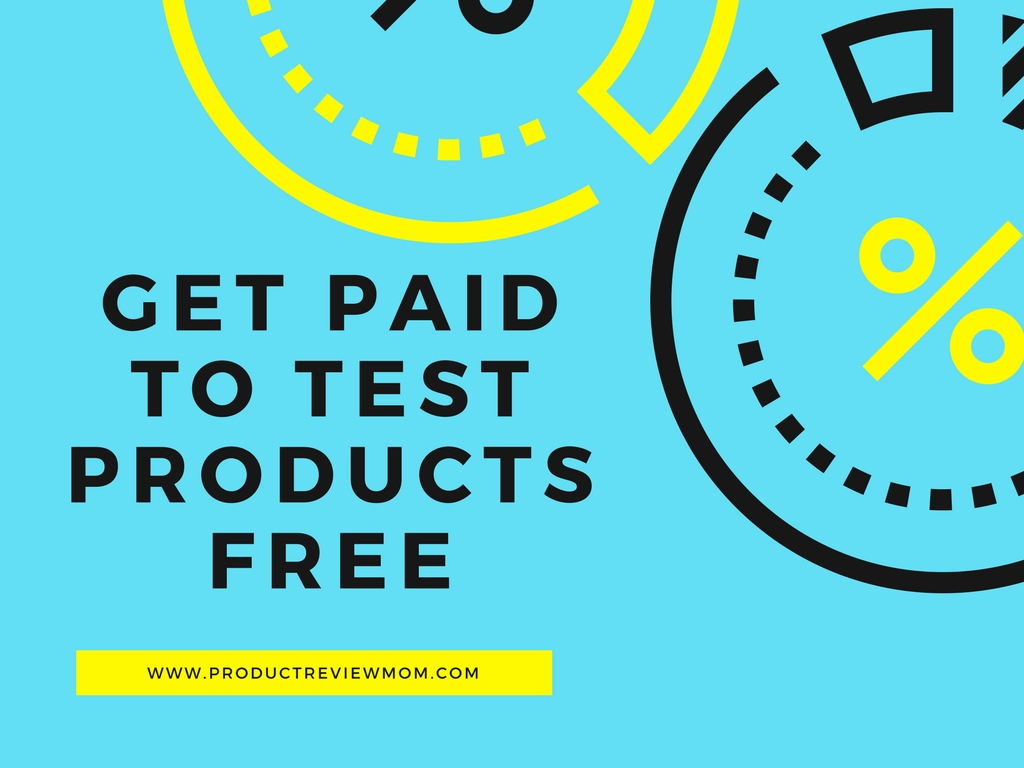 How to Get Paid to Test and Review Products at Home Free via  www.productreviewmom.com