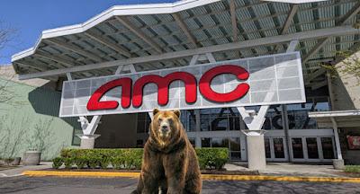 As a new meme-stock favorite returns to form, AMC stock rises.