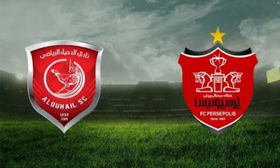 مشاهدة مباراة بيرسبوليس والدحيل 21-9-2020 بث مباشر في دوري ابطال اسيا