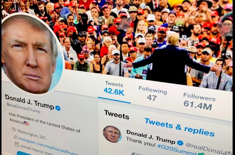 Trump ha convertido a su cuenta de Twitter - @RealDonaldTrump- en una parte central aunque controvertida de su presidencia. Tiene 61,8 millones de seguidores / AP