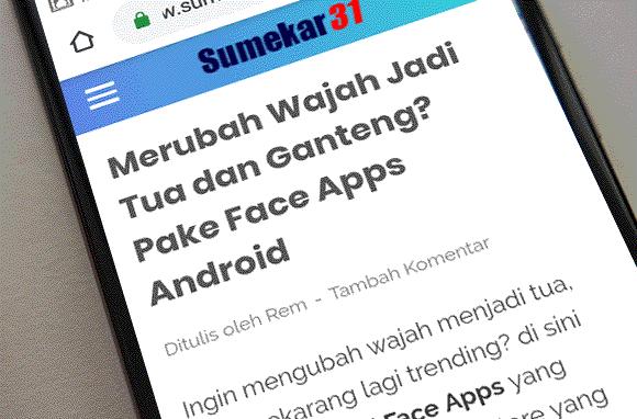 Perbesar Ukuran Tulisan di Chrome Android