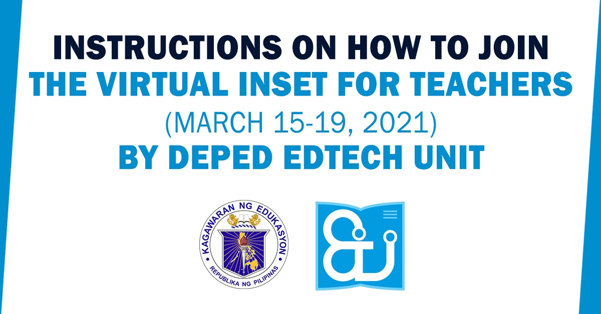 2020 official deped transmutation table and templates. Instructions On How To Join The Virtual Inset For Teachers March 15 19 By Deped Edtech Unit Teachers Click