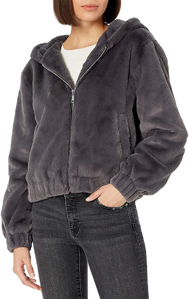 Women's Faux Fur Jackets Coats With Hood