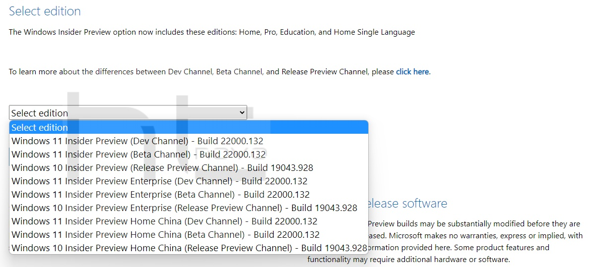 Download ISO ufficiali Windows 11