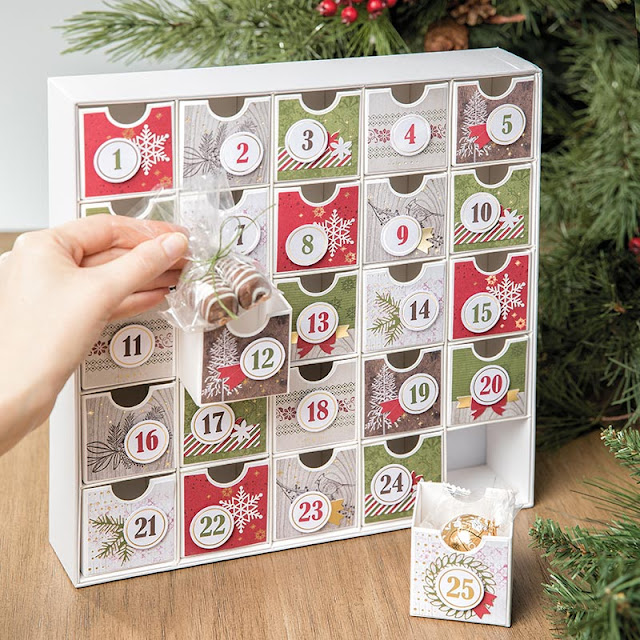 Christmas Countdown DIY Advent Calendar Stampin Up!