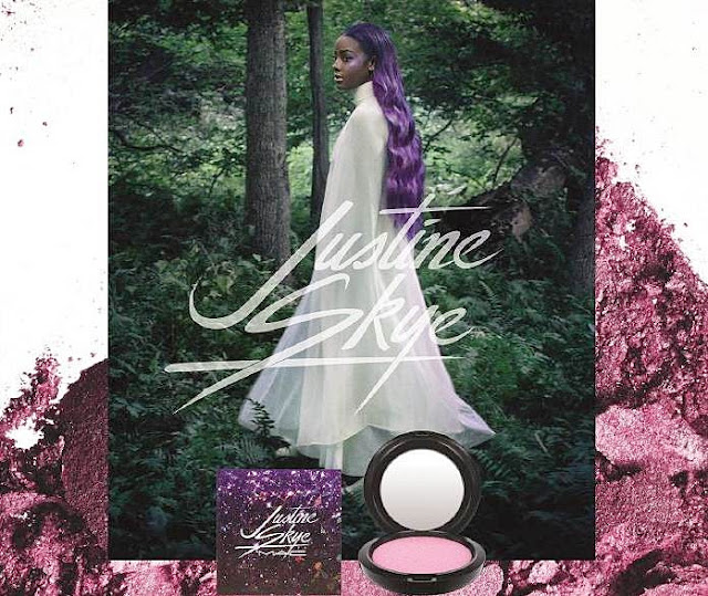 M.A.C Future Forward: Justine Skye Iridescent Powder, Dua Lipa Cremesheen Glass & Lee Hi Lipstick