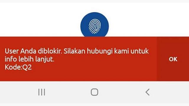 Cara Mengatasi User ID BRImo Terblokir