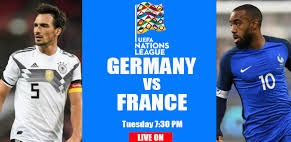 Match France vs Germany broadcast