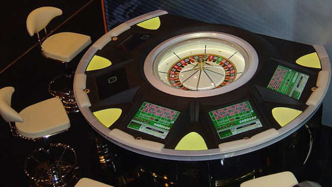 Casinos with electronic roulette