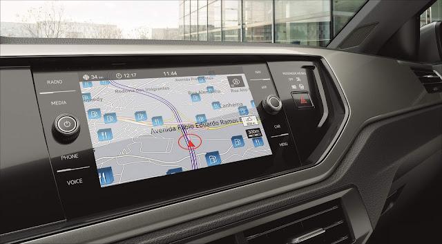 Novo VW Polo 2018 - sistema multimídia