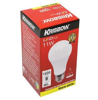 Krisbow Bohlam LED 11 Watt