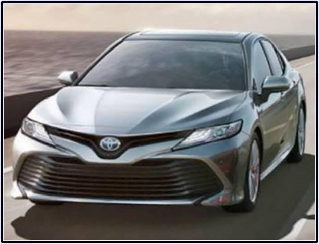 Toyota Camry 2018, Philippines Specs