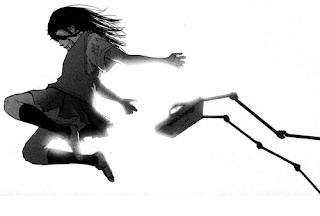 """Imagen del cómic """"El barrio de la luz"""", de Inio Asano"""