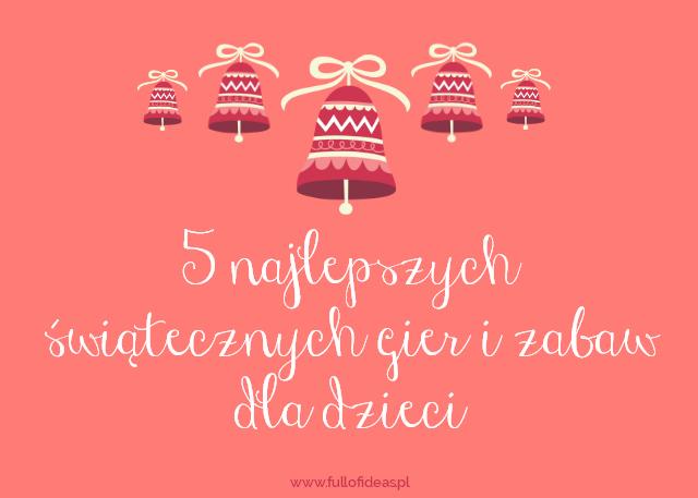 gry, zabawy, święta, christmas, angielski, dla dzieci