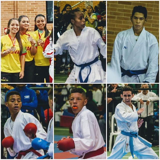 Bolívar metió nueve deportistas