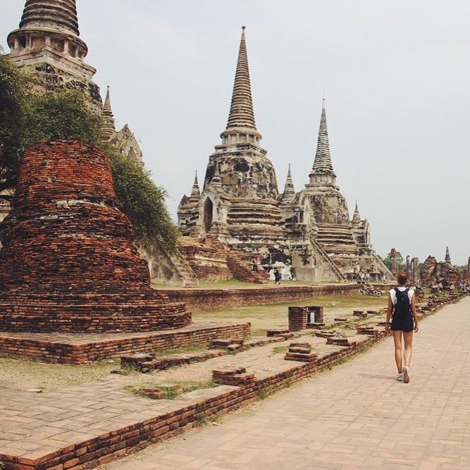 Ayutthaya: Ausflug + Tempellandschaft