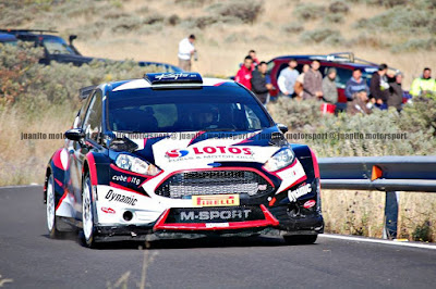 Test ERC Rally Islas Canarias