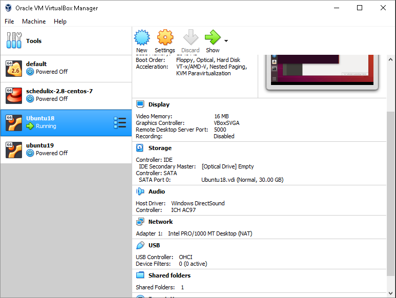 dominoc925: Setup an Ubuntu VirtualBox instance on Windows 10 to