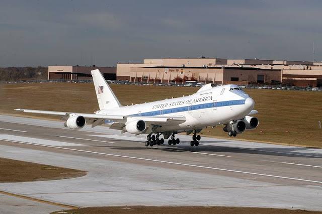 USAF E4B receive modifications