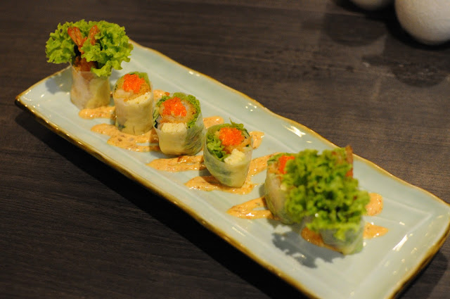 Barashi Tei Food Review Rice Paper Ebi Maki Lunarrive Singapore Lifestyle Blog